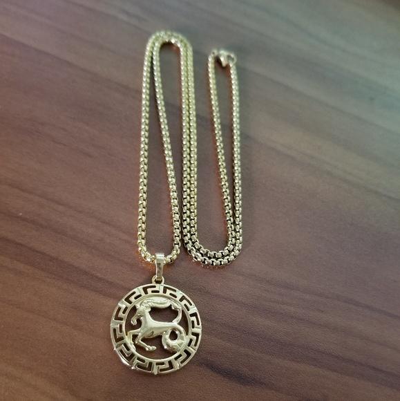 Other - Capricorn Zodiac Sign Necklace